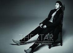 Kim Hyun Joong - The Star Magazine January Issue '14