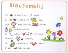 Versje 'Bloesemblij'