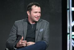 Actor James Purefoy speaks onstage during the Sundance TV's Hap and Leonard panel as part of the AMC Networks portion of This is Cable 2016 Television Critics Association Winter Tour at Langham Hotel on January 8, 2016 in Pasadena, California.