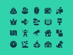 iOS Edge Glyph - 1200 icons by Zach Roszczewski #Design Popular #Dribbble #shots
