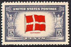 Old Us Postage Stamps Value | US Stamp Gallery >> Denmark