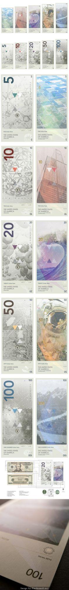 Travis Purrington reimagines US currency