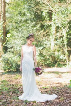 Whimsical Forest - Midsummer Nights Dream Bridal Inspiration | Amethyst Weddings