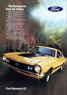 722 - FORD - Maverick 1973 - GT - Performance fora da rotina - 2