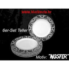 Nosfer - tallerkner - 21cm