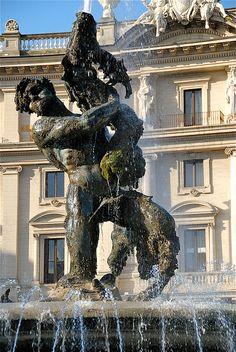 Fountain in Piazza della Repubblica