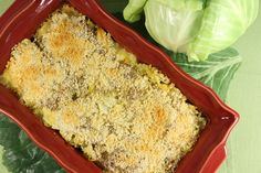 Ground Turkey Cabbage Casserole | Like corned beef and cabbage, but a bit healthier!