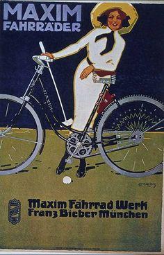 Bicycle vintage advert | Cycles retro poster | #Bicycles #Vintage #retro