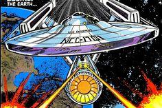 A adaptação em quadrinhos do primeiro filme de Star Trek.