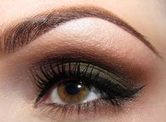 No matter how perfect the makeup on the eye - BROWS have to be sculpted, arched & filled perfectly, too.