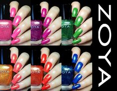 Fashion Polish: Zoya Summer 2014 Bubbly Collection swatches & review!