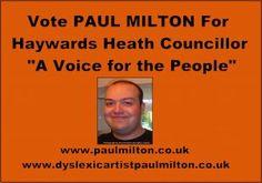 Paul Milton Famous Haywards Heath Artist