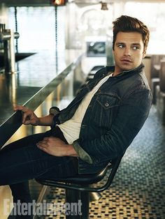 Sebastian Stan- Its just not right for one man to be this THIS attractive.