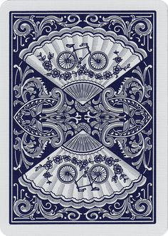 Bicycle® Fan Back Playing Cards. Produced since 1894; favored by card cheats. ;)