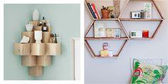 6 estanterías DIY sencillas