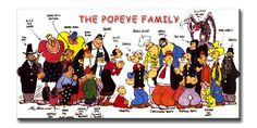 The Popeye Family... Spinachs and BURGUERS !!! -  Google