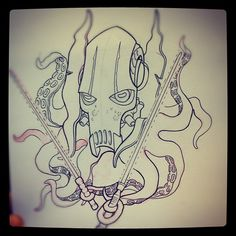 Custom artwork by Mike