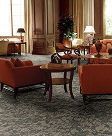 Masland Contract product details for style Tranquil shown in color Anew Gray