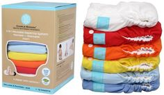 charlie banana cloth diapers (biodegradable inserts)