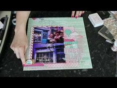 Scrapbooking video tutorial and explanation