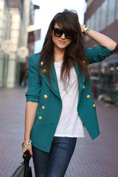- nice blazer -