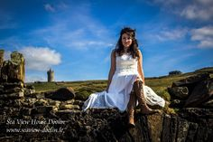 April and Jason decided to get married on a cliff. They chose Ireland and Sea View House in Doolin. We were delighted to help them have a very special and private ceremony in a very special place.