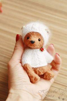 Olga Nechaeva - Artist Bears and Handmade Bears Tedy Bear, Adoption, Bunny, Miniatures, Felting, Artist, Handmade, Animals, Bears