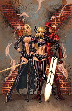 Uncanny X-Men - by J.Scott Campbell | #marvel #comics