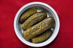 Lacto-Fermented Pickles.