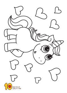 unicorn ausmalbilder 3   kindergeburtstag pferde/einhorn