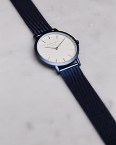New Blue  #bluemeshwatch #mercercollection #marble #rosefield #rosefieldwatches #amsterdam #newyork #nyc
