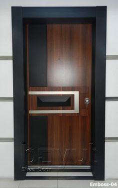 Top 40 Modern Wooden Door Designs for Home 2018 Flush Door Design, Room Door Design, Door Design Interior, Wooden Door Design, Main Door Design, House Design, Modern Wooden Doors, Modern Door, Steel Security Doors