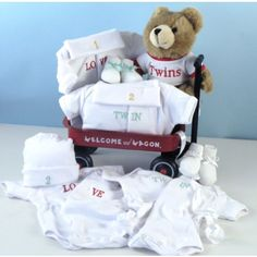 Twins Welcome Wagon Gift Set