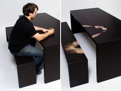 Mesa Termocromática | Jay Watson | bim.bon | #table #design