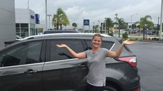 """Ms. Hess came into Lakeland Automall in the hopes of finding a new vehicle. With the help of salesman Mathew Robinson, Ms. Hess left with a brand new 2017 Ford Escape! """"Very helpful and efficient with my needs and requests. Did a lot of running to make sure I was taken care of!"""" We really appreciate your business here with us! We hope that you are enjoying your new Ford Escape and please; if there is anything that we can do, don't hesitate to ask… We are here to help! #LakelandAutomall…"""