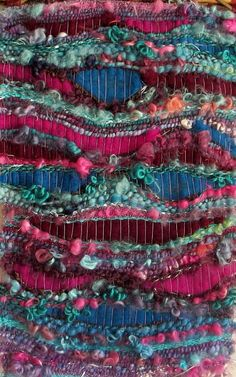Art décoratif Tenture murale en tissage fait-main par ChezPasserose
