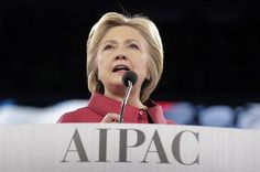 Hillary Clinton spoke before the American Israel Public Affairs Committee (AIPAC) conference this weekend and rather unsurprisingly proved that on certain matters of human rights—namely those of women in the Global South—she is even more conservative than Donald Trump himself.  At the gathering of some of the most powerful—and most racist—lobbyists in Washington, Clinton used her ...