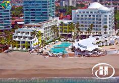 Hilton Puerto Vallarta resort - http://www.puertovallarta.net/what_to_do/top-10-all-inclusive-resorts-hotels-puerto-vallarta.php #puertovallarta #vallarta #allinclusive #hotels #resorts #mexico #hotelzone #hilton