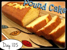 Pound Cake Recipe [DAY 105] ★ watch the video: https://www.youtube.com/watch?v=AN2BhWW4wM0&list=PLGRnDhMJALhH_GXl20Kx5lraCMUd2ltq1&index=1 ★  I'm trying A NEW RECIPE OF Laura in the Kitchen EVERY DAY and sharing its conversion into the metric system, come and join me on my yummy challenge! :)