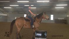 Barrel racing body positioning is very important, especially during turns. Horse trainer of the Year Kelly Murphy-Alley offers some tips to help. Barrel Racing Exercises, Barrel Racing Tips, Barrel Racing Saddles, Barrel Saddle, Barrel Racing Horses, Barrel Horse, Barrel Racing Quotes, Saddle Rack, Horseback Riding Tips