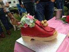 Clog cake for a Morris Dancer