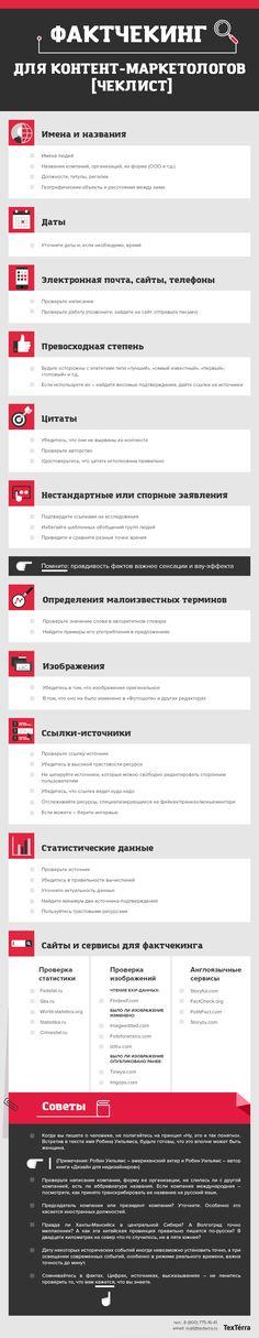 Фактчекинг для контент-маркетолога (чеклист)