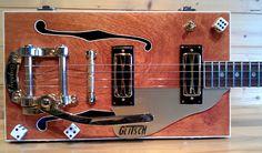 The Glitsch...Gretsch inspired Cigar Box Guitar