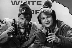Bob and Doug McKenzie (Rick Moranis and Dave Thomas) Strange Brew Canadian Things, I Am Canadian, Canadian Culture, Canadian History, Canadian Stereotypes, Dave Thomas, Rick Moranis, Rob Ford, So Far Away