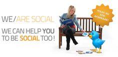 We/are social: gratis social media advies Dinosaur Stuffed Animal, About Me Blog, Animals, Animales, Animaux, Animal, Animais, Dieren