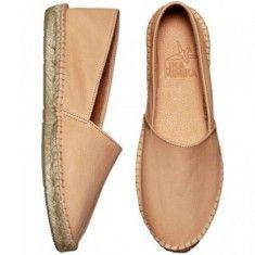 Classic Leather Espadrilles by LIKA MIMIKA | TEINT
