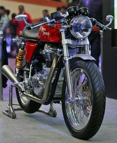 For New genration Royal Enfield Cafe Racer Bikes, check out here all information with prices At Autoinfoz.com online..