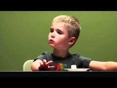 Marshmallow test short Large - YouTube