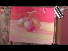 Watercolor Techniques: Wet Glazing