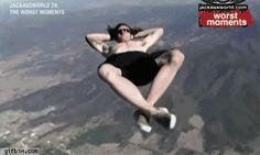base jumping gif - Google Search